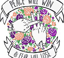 Twenty one Peace pilots Will Win  by sonyahole