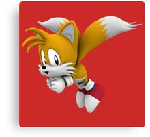 Classic tails Canvas Print
