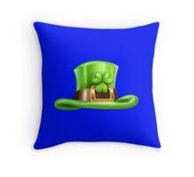 Saint Patrick's day hat  Throw Pillow