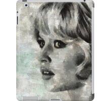 Brigitte Bardot Hollywood Icon by Mary Bassett iPad Case/Skin