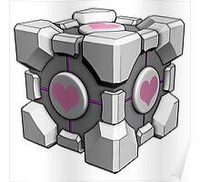 Companion Cube - Portal Poster