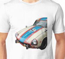 Triumph GT Vintage Race Car Unisex T-Shirt