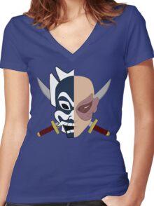 Zuko the Blue Spirit - Avatar the Last Airbender Women's Fitted V-Neck T-Shirt