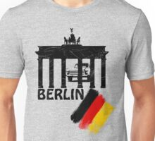 berlin, germany flag, trabant Unisex T-Shirt