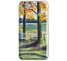 Fall in Arkansas iPhone Case/Skin
