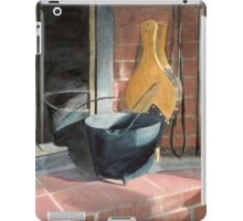 Sunlit Fireplace iPad Case/Skin