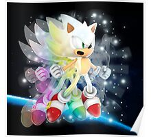 Hyper Sonic the Hedgehog Poster
