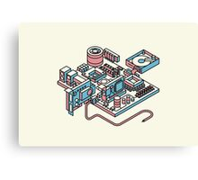 Motherboard Canvas Print
