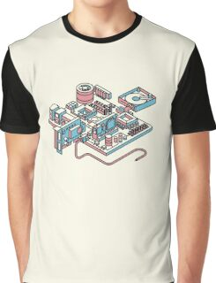 Motherboard Graphic T-Shirt