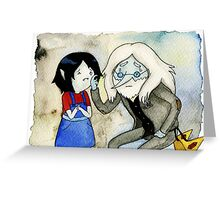 Adventure Time Marceline and Ice King Greeting Card