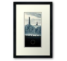 Lord of the Rings - The Ring Design Framed Print