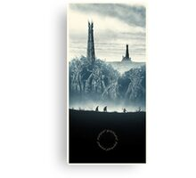 Lord of the Rings - The Ring Design Canvas Print