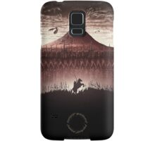 Lord of the Rings - The Ring Design Red Samsung Galaxy Case/Skin