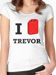 I Love Trevor Women's Fitted Scoop T-Shirt