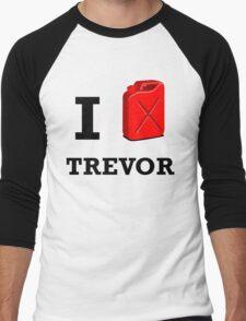 I Love Trevor Men's Baseball ¾ T-Shirt