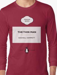 The Thin Man Book Cover tee Long Sleeve T-Shirt