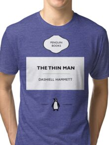 The Thin Man Book Cover tee Tri-blend T-Shirt