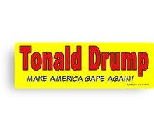 Tonald Drump Canvas Print