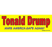 Tonald Drump Photographic Print