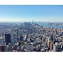 Manhattan. New York City. Photographic Print