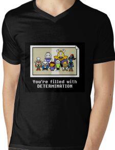 Undertale Ending Mens V-Neck T-Shirt