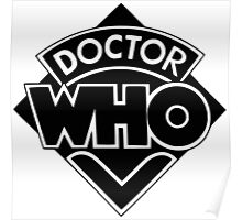 Doctor Who logo 1973-1980 Poster