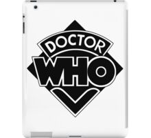 Doctor Who logo 1973-1980 iPad Case/Skin