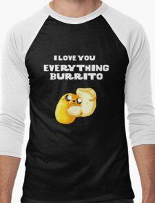 Everything Burrito Men's Baseball ¾ T-Shirt