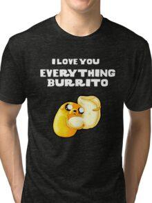 Everything Burrito Tri-blend T-Shirt