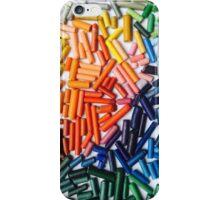 Rainbow Crayons Photo iPhone Case/Skin