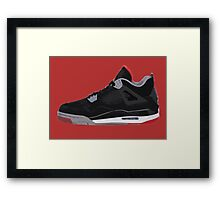 Jordan Four Framed Print