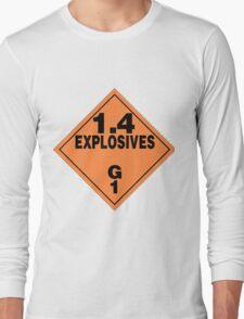Explosive sign Long Sleeve T-Shirt