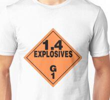Explosive sign Unisex T-Shirt