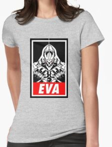 Evangelion Womens Fitted T-Shirt