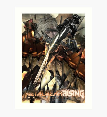 Metal Gear Rising: Revengeance - Raiden  Art Print