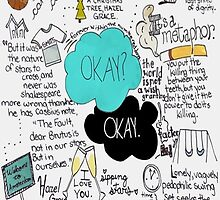 The Fault in Our Stars collage by sawangomahcase