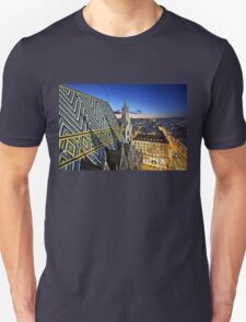 View from Stephansdom - Vienna Unisex T-Shirt