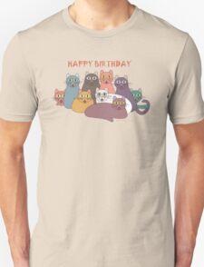 HAPPY BIRTHDAY by NINE CATS  T-Shirt