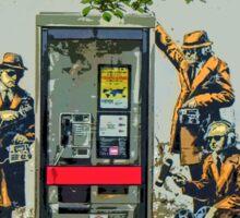 GCHQ listening post by Banksy Sticker
