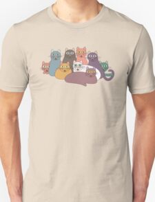 NINE CATS WITH NINE LIVES = ? T-Shirt