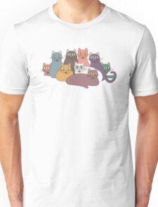 NINE CATS WITH NINE LIVES = ? Unisex T-Shirt