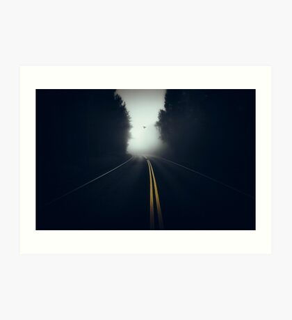 Highway. Art Print