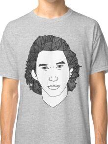 Geometric Adam Driver Classic T-Shirt
