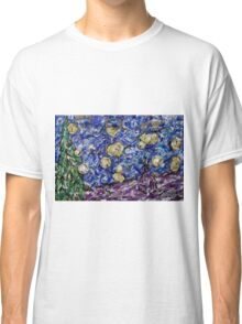 A Starry Evening in 2016 (figurative departure) Classic T-Shirt