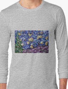 A Starry Evening in 2016 (figurative departure) Long Sleeve T-Shirt