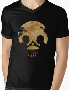 Couple bring love on full moon Mens V-Neck T-Shirt