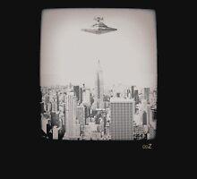 Star invasion on New York Unisex T-Shirt