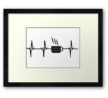 Coffee Beat Framed Print