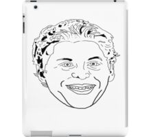 Cera-nade you with a smile.  iPad Case/Skin