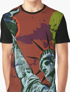 STATUE OF LIBERTY-33 Graphic T-Shirt